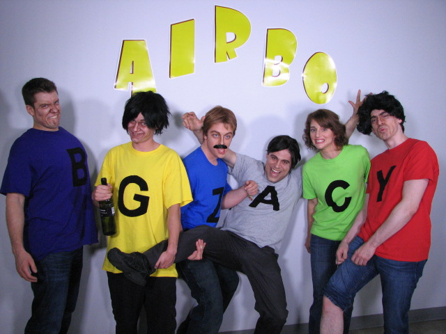 Photo du populaire groupe AIRBO...