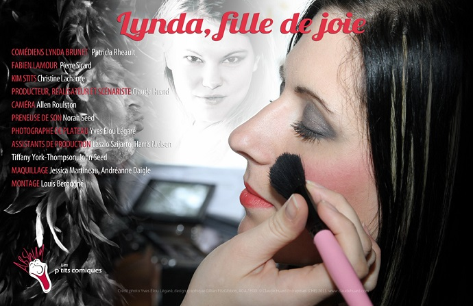 Patricia Rheault plys the role of Lynda, the Loose Girl