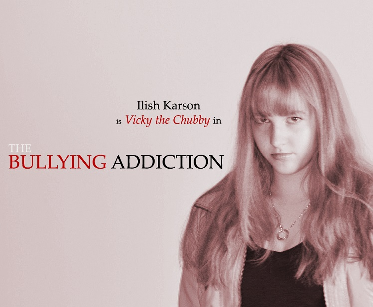 Ilish Karson is Vicky the Chubby in THE BULLYING ADDICTION...