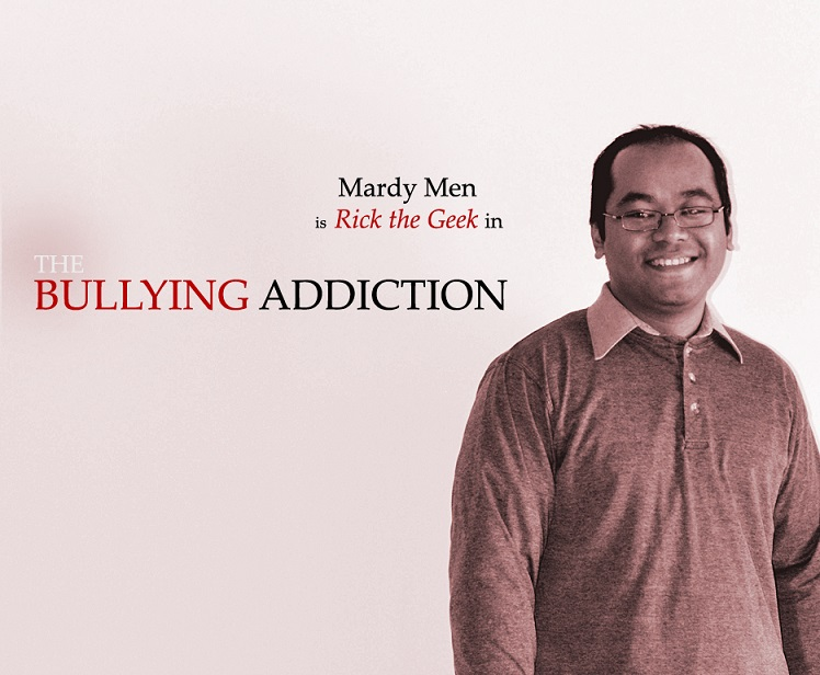 Mardy Men is Rick the Geek in THE BULLYING ADDICTION...